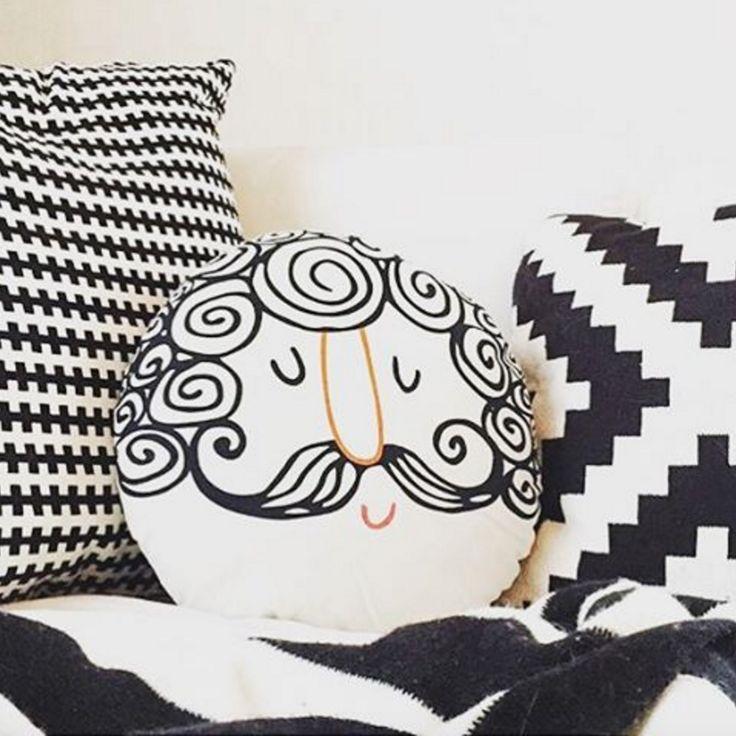 Image credit: @mrsronn  #tigerhome #homedecor #cushions