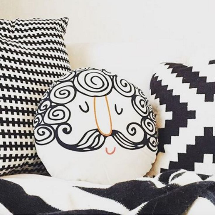 Image credit: @mrsronn  #tigerhome #homedecor #cushions