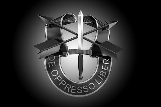 US Army Special Forces Motto
