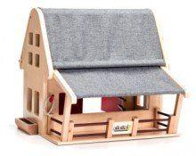 Anamalz Barnhouse wooden toy   www.minizoo.com.au