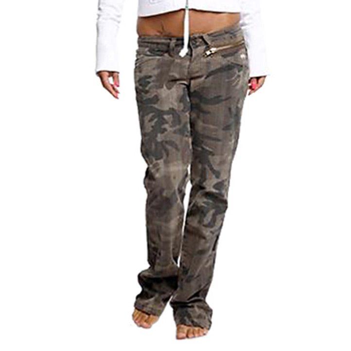 Опт женские камуфляжные штаны