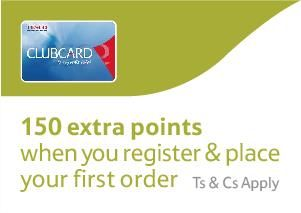 Register at Tesco Photo and earn 150 extra Clubcard Points with 1st Photo Order