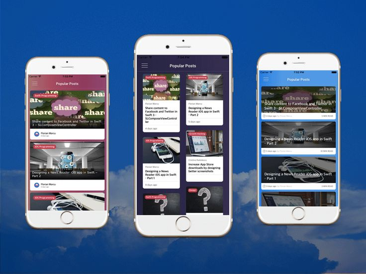 We've recently launched a brand new iOS template. This is meant to turn any Wordpress blog into a native mobile app. It currently has three different layouts for the blog posts, all of them reflect...