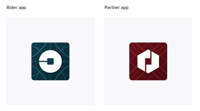 Este es el nuevo logo de Uber, su nuevo icono y su nueva imagen