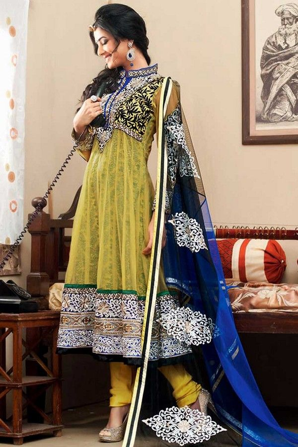 Some of the designers of the indian Fashion Industry has revealed New Indian Latest Anarkali Fashion Suits Collection 2013-2014 for the women that they can make their appearance perfect in front of other while coming to party or function.