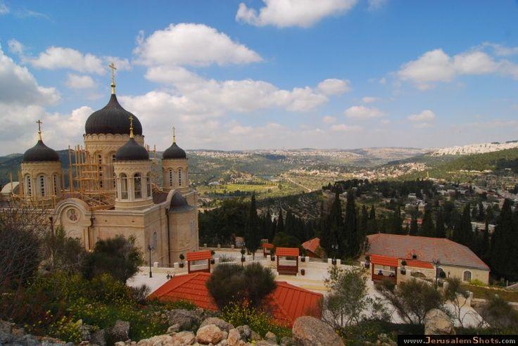 A church in Jerusalem....