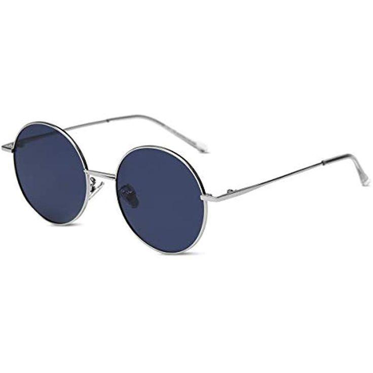 occhiali da sole vintage donne retrò occhiali da sole rotondi lenti a