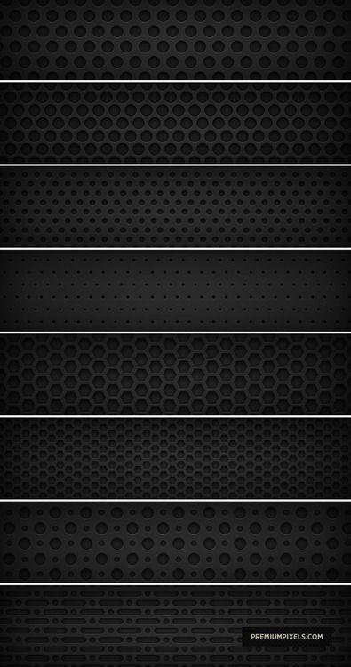 speaker hole patterns
