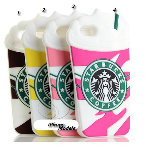 iPhone 6 Plus, 6, 5/5S - Springtime Frap Cafe Case in Assorted Colors