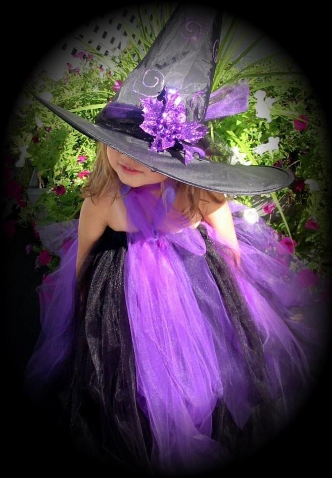Witch tutu costume Halloween CUTE!!!!!