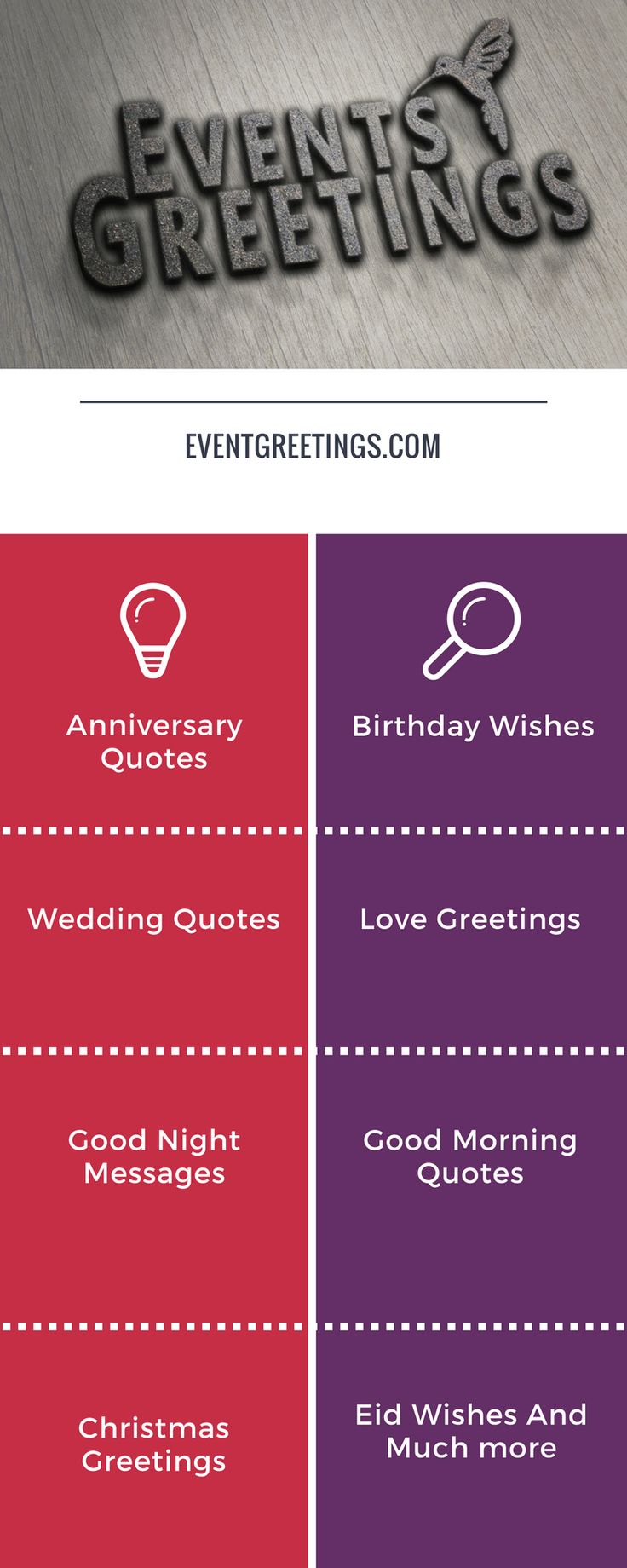event Greetings  http://www.eventgreetings.com/ #love #wishes #quotes