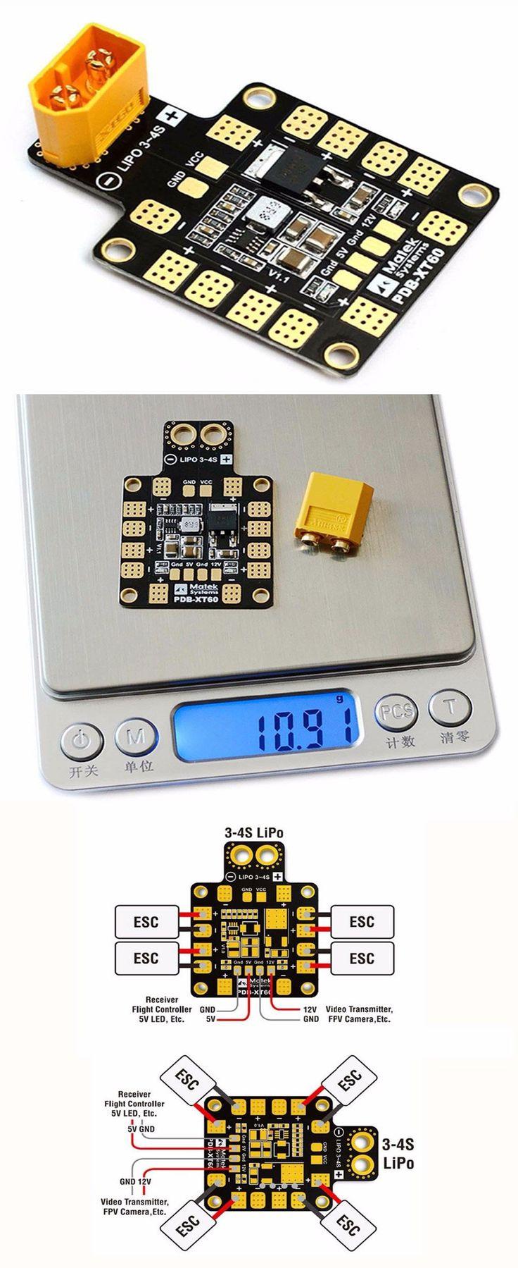 Matek PDB-XT60 Power Distribution Board