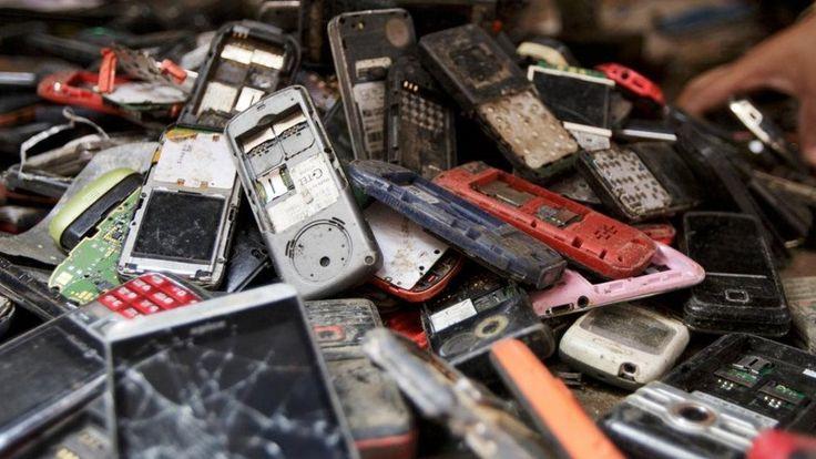 Os metais valiosos contidos em seu smartphone - e por que ele pode se tornar um problema ambiental