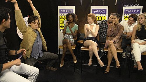 #wattpad #random ❝ I suspect foul play! ❞  ◣ in which I make gif imagines of our favorite riverdale characters ◥