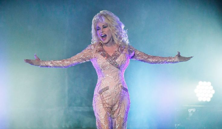 Dolly Parton performs at Shoreline
