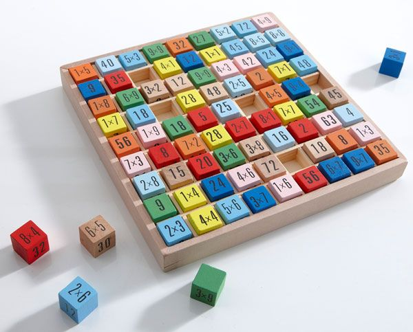 Les 44 meilleures images du tableau for children sur - Apprendre ses tables de multiplication ...