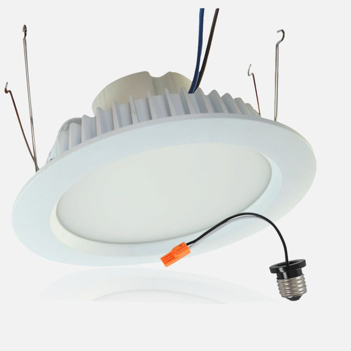 The Led Retrofit Luminaire Conversion Kit Delivers 810 910 Lumens Of Exceptional 83 Cri Light While Achieving Maximal Lumens Per Watt The 5 6 In 2020 Led Down Lights