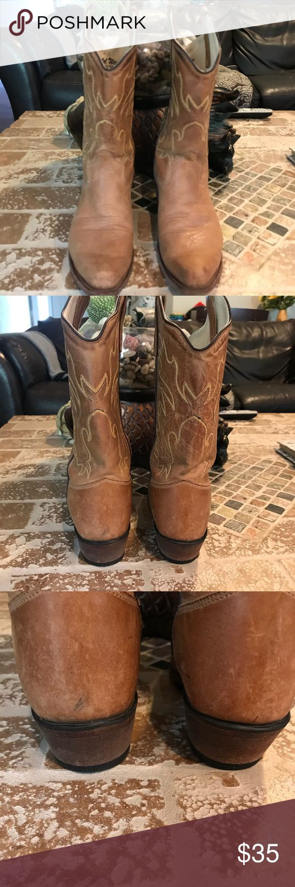 Old West boot! Size 045. Size 045 fits like women's size 6. Old West Shoes Ankle Boots & Booties