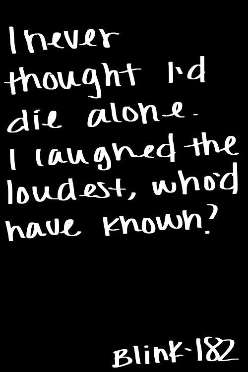 Adams Song - Blink 182