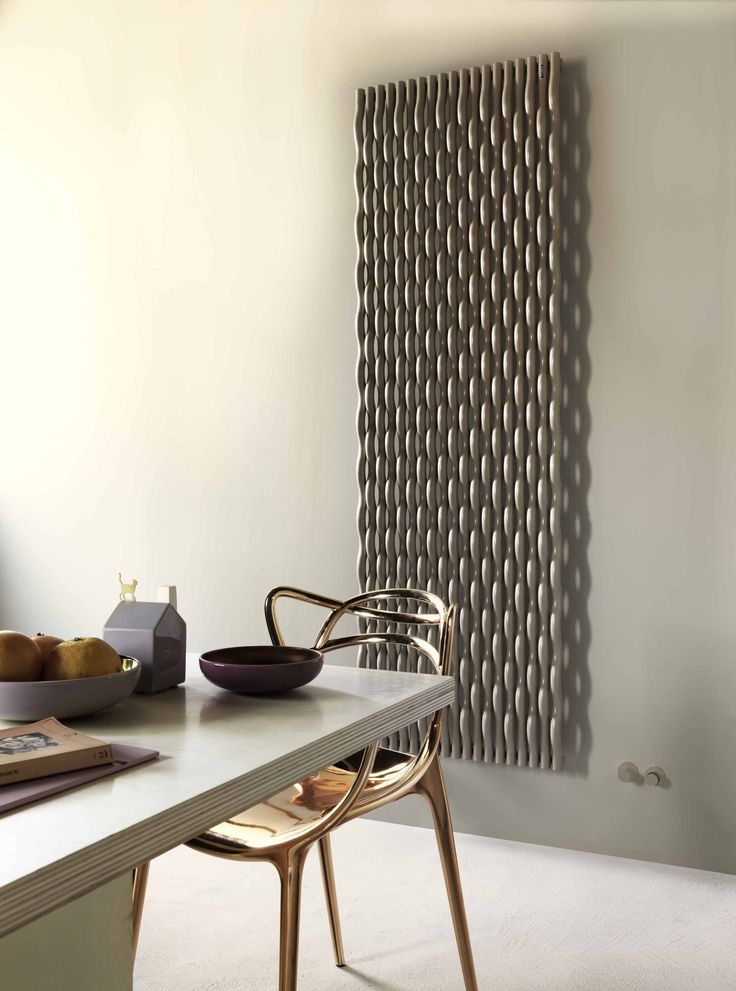 Trame radiator designed by Stefano Giovannoni for Tubes