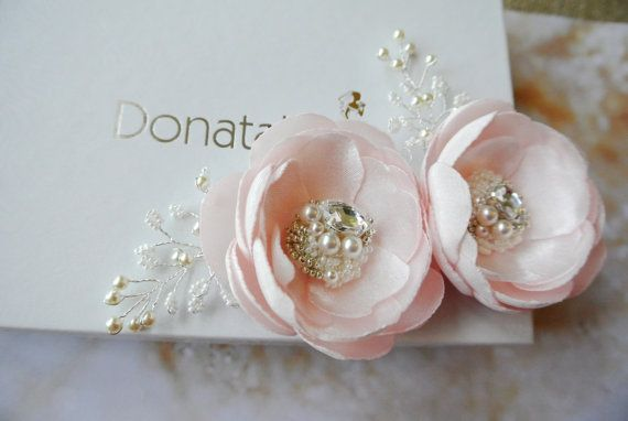 Bridal head piece Bridal hair piece Wedding by DonataleFlowers4You