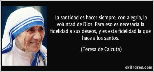 Santidad.