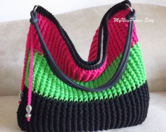 Crochet Over Shoulder Bag 37