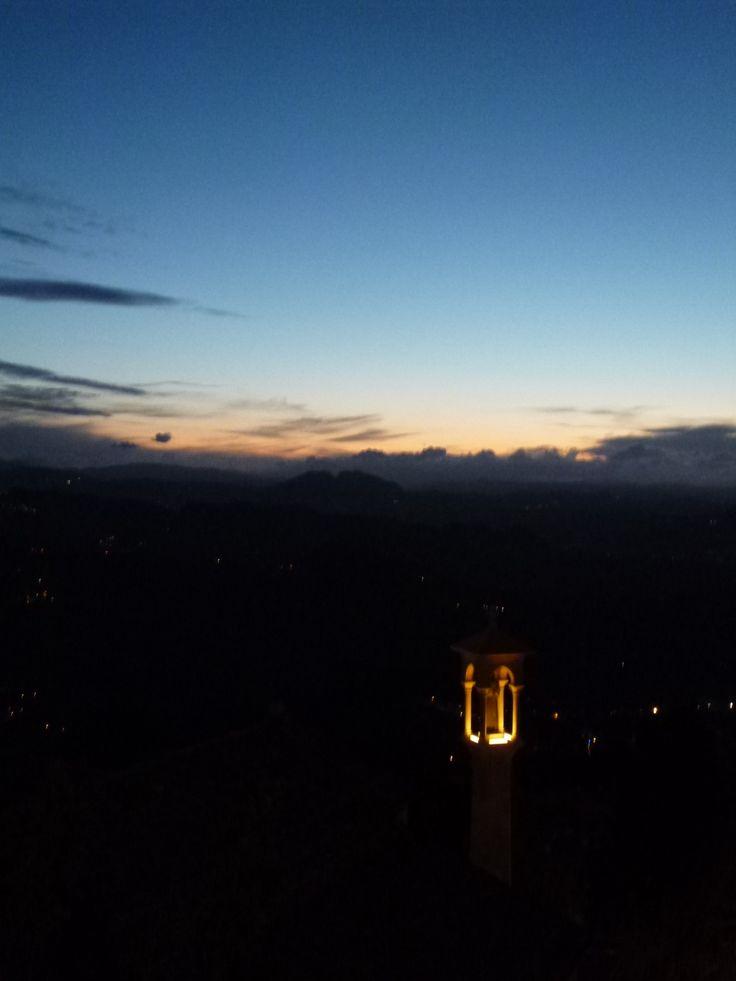 Dalla finestra di 「Grand Hotel San Marino」 , San Marino