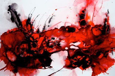'Aus der Reihe: Schwarz-Weiß-Rot' von Claudia Neubauer bei artflakes.com als Poster oder Kunstdruck $6.48