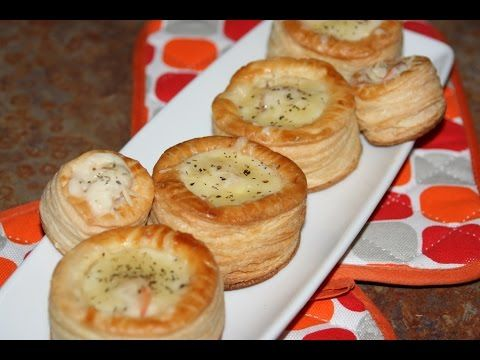 Recette Vol-au-Vent à la Sauce Béchamel & Crevettes - Shrimp & Bechamel Vol-au- Vent Recipe - YouTube