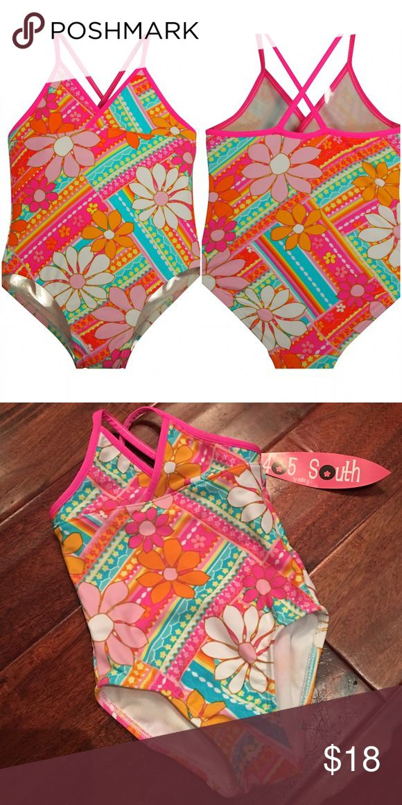 New Anita G Boutique Floral 1-Piece Swimsuit The most quality Swimsuit for little girls. Made by 405 South, a division of Anita G.  Guaranteed from smoke/pet free environment. Bundle and save. Buy with confidence and any bundle price over $20, mention this post after checkout and you will receive a NWT $25 necklace as well. Anita G Swim One Piece