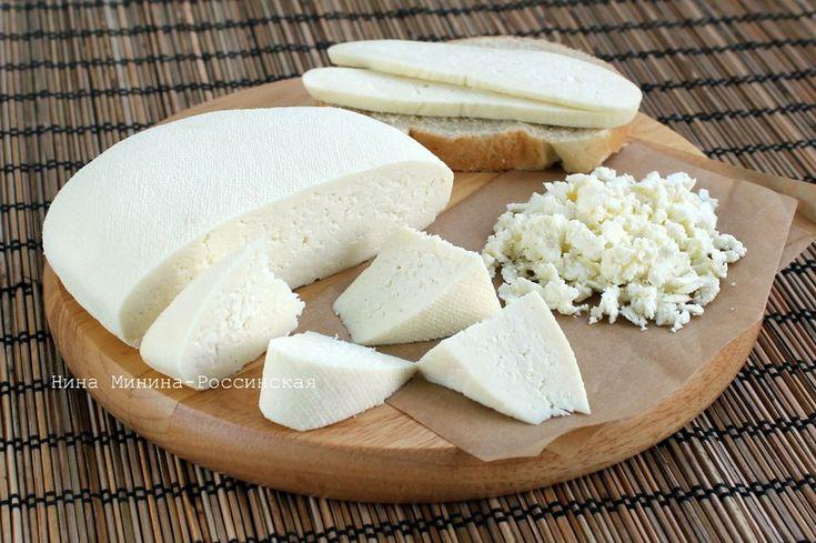 сыр из козьего молока - я готовлю нормально