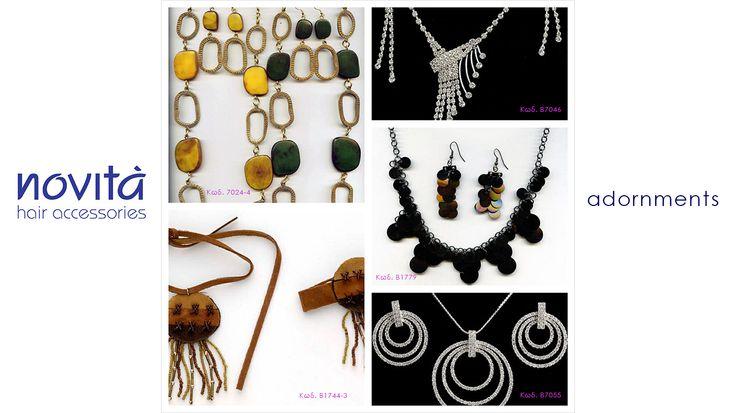 Φανταστικά σετ κολιέ + σκουλαρίκια για ολοκληρωμένο look! http://ow.ly/zx01V