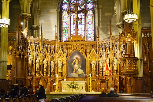 St Patrick's Old Cathedral Little Italy NYC