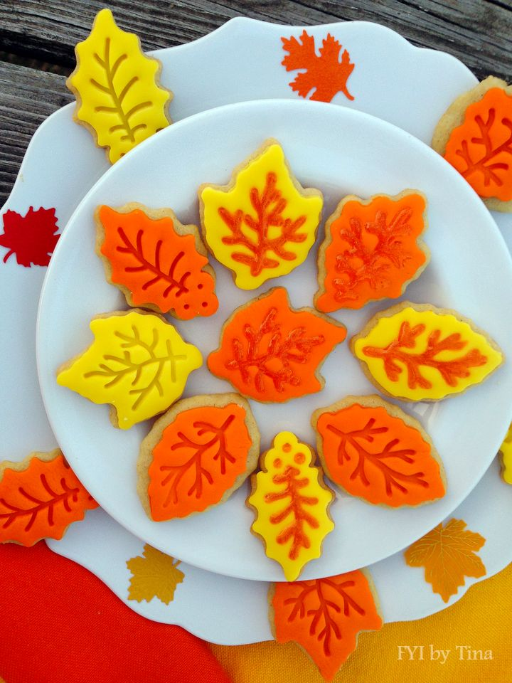 Leaf sugar cookie recipes