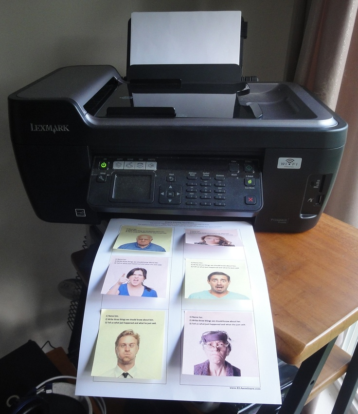 Watch a one minute video tutorial  on Printing with Post Its. I'm thinking scavenger hunts, kid's photos, sight words...