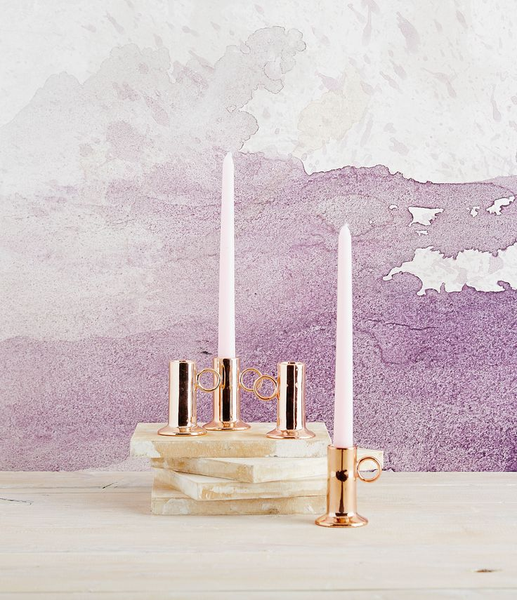 Robert Gordon Australia SS15 Collection. Copper ceramic candlesticks. Styling by Hannah and Kate Gordon. Photo by Jarrod Barnes Photography