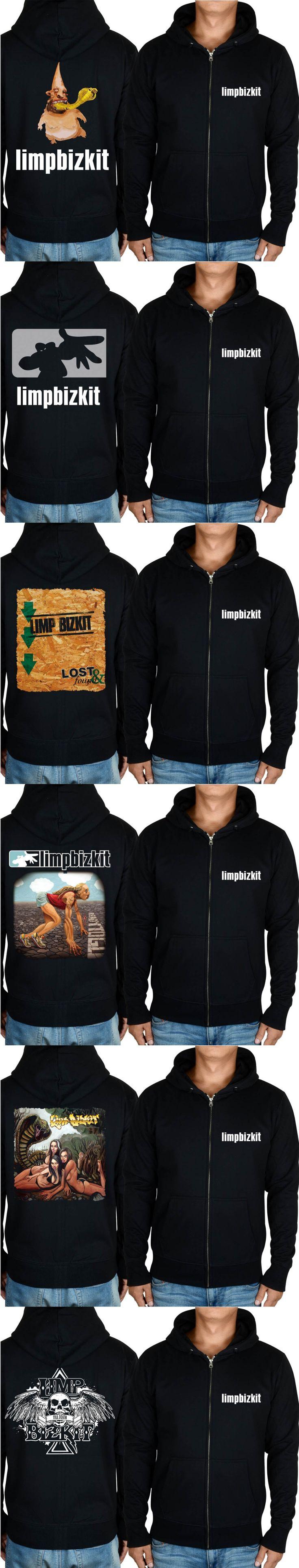 limp bizkit  Rap-metal  Nu-metal Gold  rock black hoodie