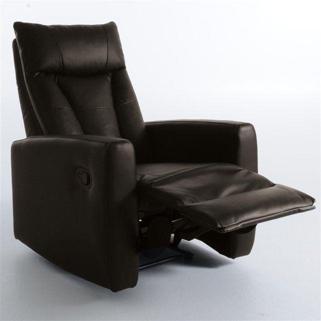 Fauteuil De Relaxation Jalpha La Redoute Interieurs Fauteuil Relax Mobilier De Salon Fauteuil