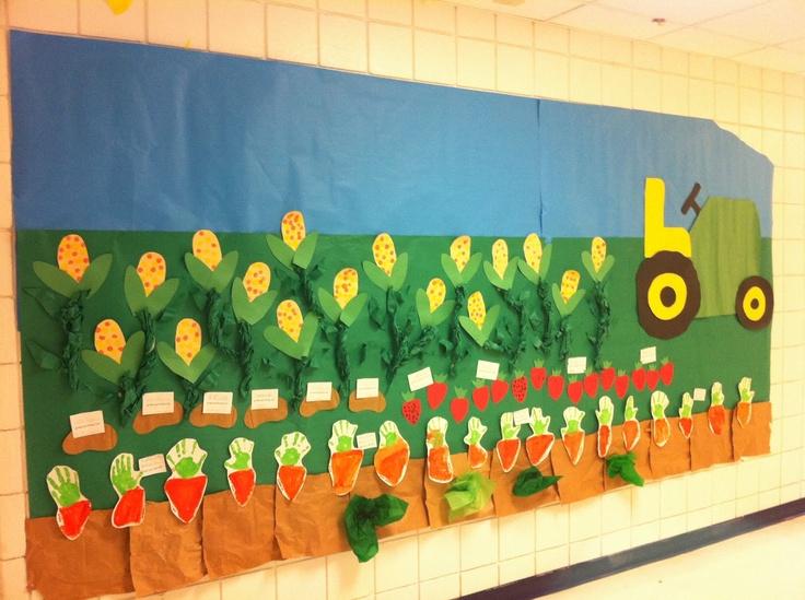 Kindergarten Cupcake Crumbs: Farming Fun!!!