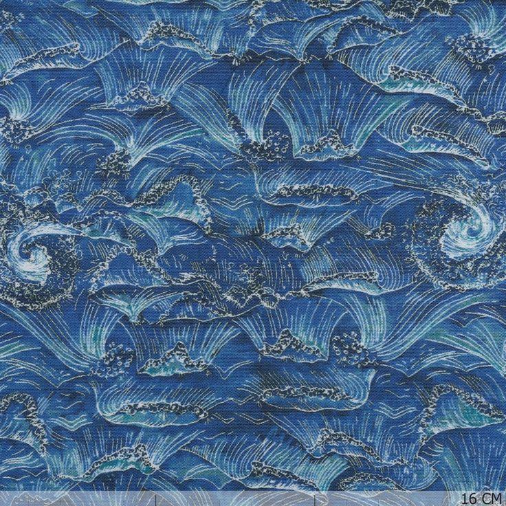 Liberty ~ Ocean Cotton 56608-425