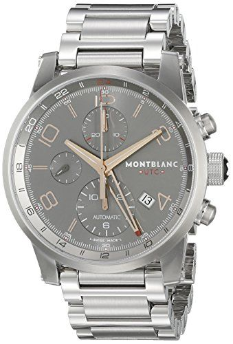 Montblanc Timewalker ChronoVoyager UTC Men's Stainless Steel Swiss Automatic Watch 107303 https://www.carrywatches.com/product/montblanc-timewalker-chronovoyager-utc-mens-stainless-steel-swiss-automatic-watch-107303/ Montblanc Timewalker ChronoVoyager UTC Men's Stainless Steel Swiss Automatic Watch 107303  #Chronographwatch More chronograph watches : https://www.carrywatches.com/tag/chronograph-watch/