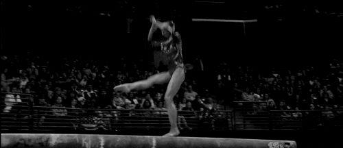 Tan Sixin (China) - Balance Beam (TF) @ 2012 Pacific Rim Gymnastics Championships. Switch split, back tuck, sheep jump, all connected!