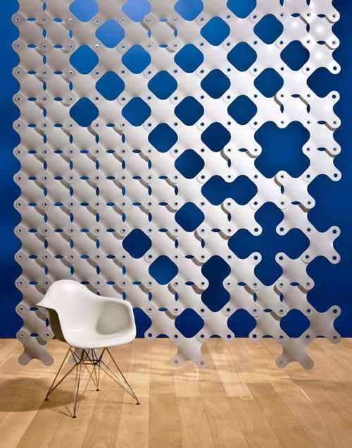 Hanging room divider - have NO idea where to find or even what to do with this but it sure is M's taste and is very cool...