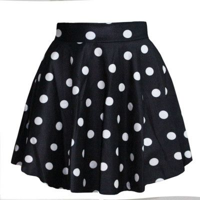 Gender: Women Decoration: None Waistline: Empire Pattern Type: Print Brand Name: EAST KNITTING Style: Fashion Material: Polyester Material: Spandex Dresses Length: Above Knee, Mini Silhouette: Ball Go