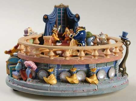 DISNEY FIGURAL MUSIC BOX - Replacements Ltd.