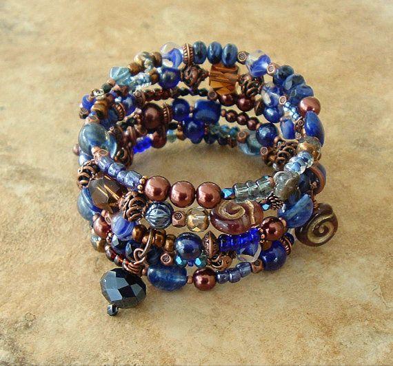 Boho Bracelet Southwest Jewelry  Cowgirl Bohemian by BohoStyleMe