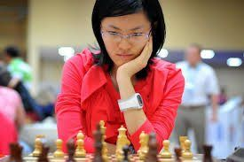 """""""Born in Xinghua, China, in 1994, Hou Yifan is a chess prodigy. Today, she is the Women's World Chess Champion — a title she first won in 2010, at the age of 16, making her the youngest World Champion of either sex in history. But her entire career has been a litany of firsts."""""""