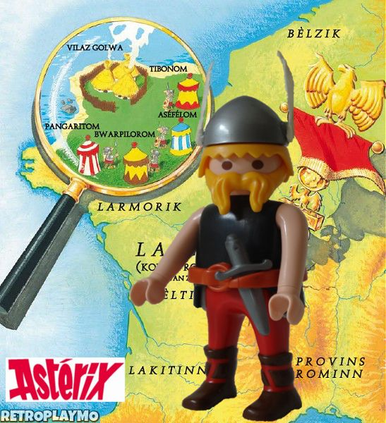 Playmobil custom figure: Asterix The Gaul