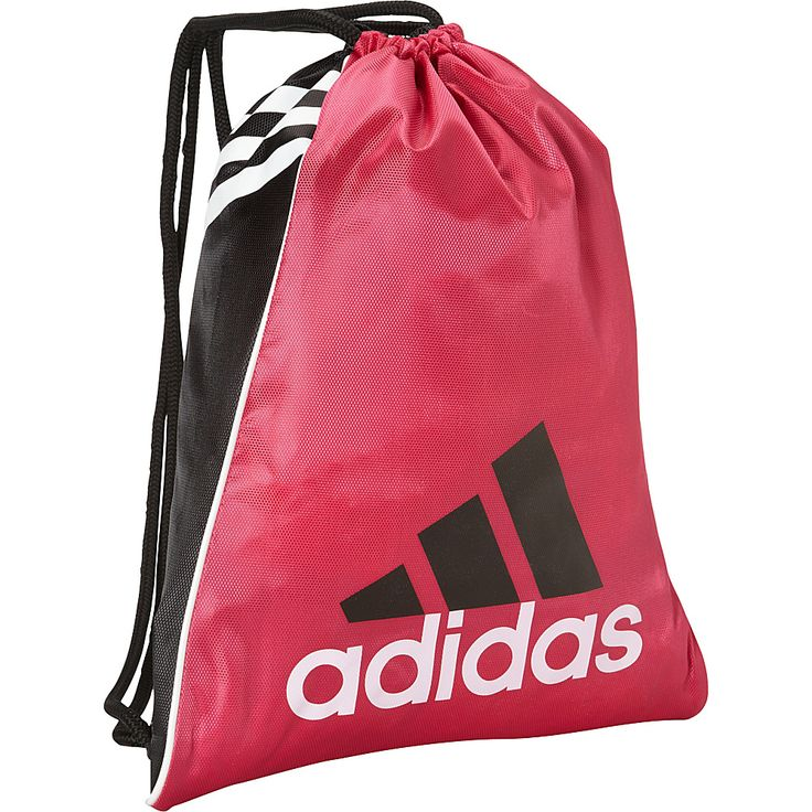 Image of adidas Burst Sackpack Radiant Pink - adidas School & Day Hiking Backpacks